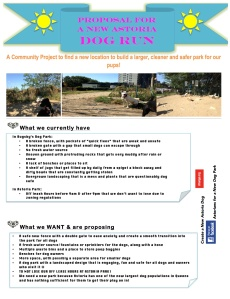 DogParkFlierPage1